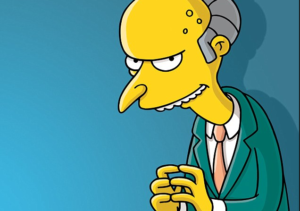 Montgomery Burns 1