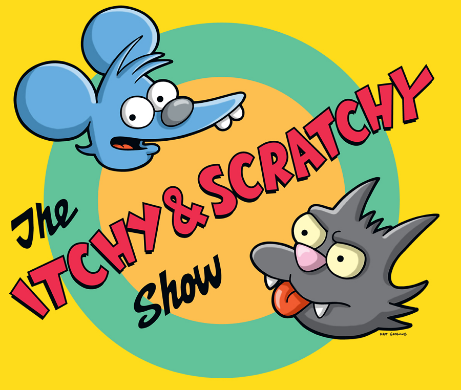Itchy & Scratchy show 1